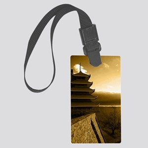 Reading Pagoda Large Luggage Tag