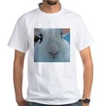 In your face Bunny Rabbit White T-Shirt