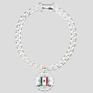 mexicoshield Charm Bracelet, One Charm