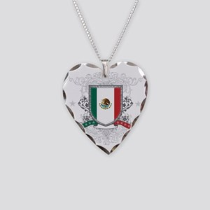 mexicoshield Necklace Heart Charm