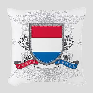 netherlandsshield Woven Throw Pillow