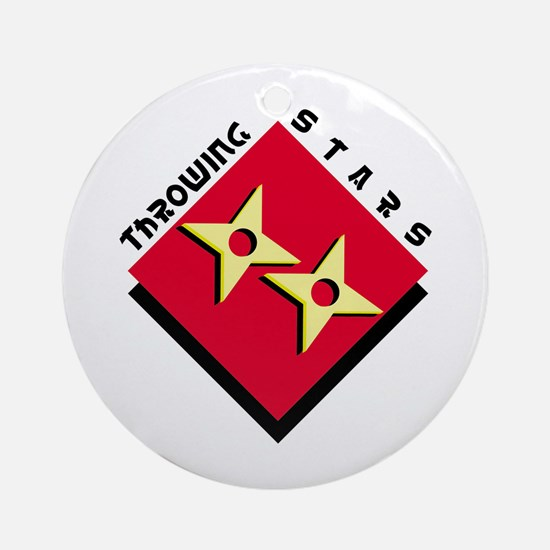 Throwing Stars Ornament (Round)