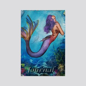 MermaidJournel3 Rectangle Magnet