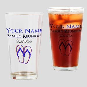 FUN FAMILY REUNION Drinking Glass