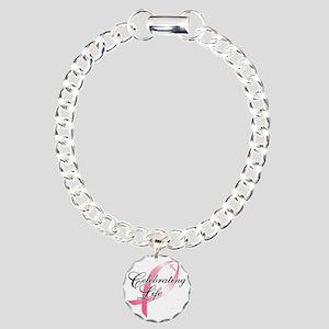 Celebrating Life Cross Charm Bracelet One