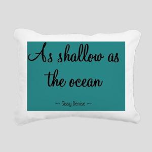 shallowocean_mouse Rectangular Canvas Pillow