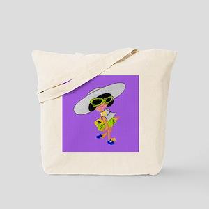 doll2 tile Tote Bag