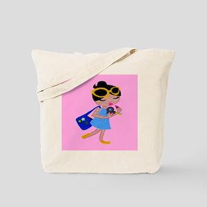 doll5 tile Tote Bag