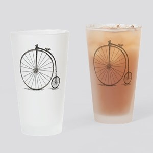 penny farthing Drinking Glass