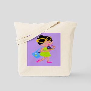 doll3 tile Tote Bag