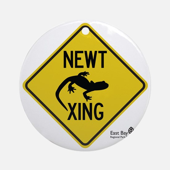 newt-xing Round Ornament