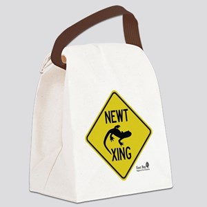 newt-xing Canvas Lunch Bag