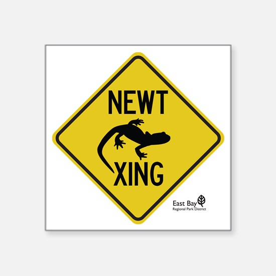 "newt-xing Square Sticker 3"" x 3"""