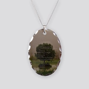 Brett16x20Vert_Tree2 Necklace Oval Charm