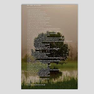 Brett16x20Vert_Tree2 Postcards (Package of 8)
