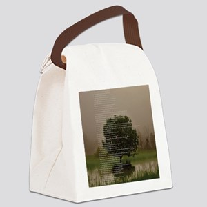 Brett16x20Vert_Tree2 Canvas Lunch Bag