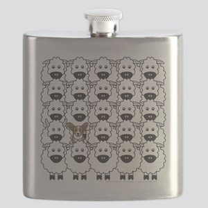 Cardie in the Sheep Flask