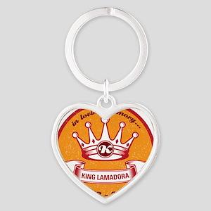 KingButton Heart Keychain