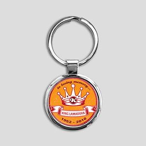 KingButton Round Keychain
