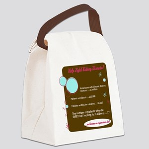 fight-ckd-stars Canvas Lunch Bag