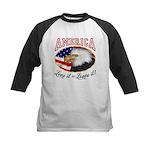 America - Love it or Leave it! Kids Baseball Jerse