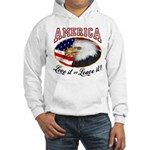 America - Love it or Leave it! Hooded Sweatshirt