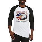 America - Love it or Leave it! Baseball Jersey