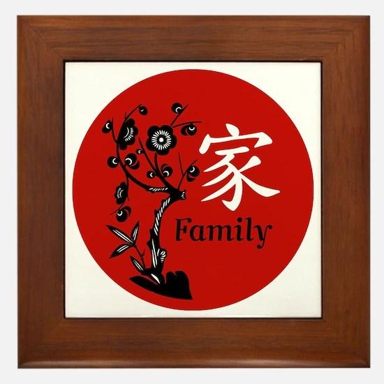 Family Framed Tile