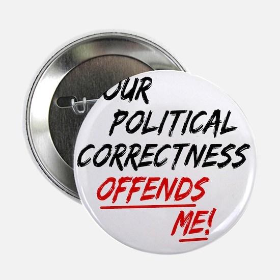 """politicalcorrectness01 2.25"""" Button"""
