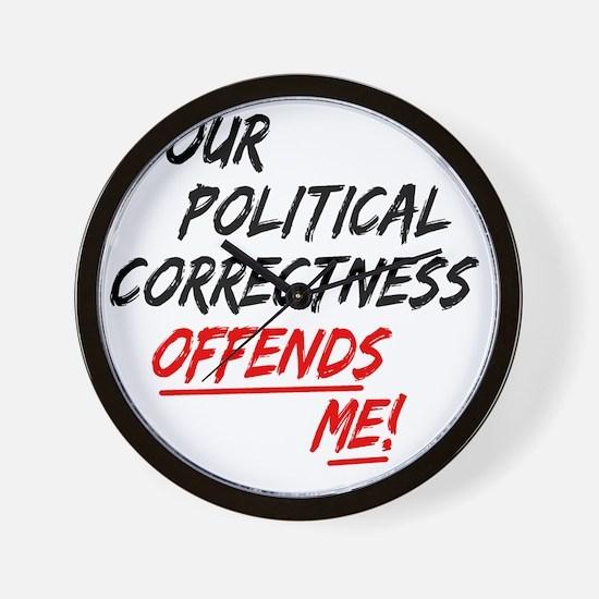 politicalcorrectness01 Wall Clock