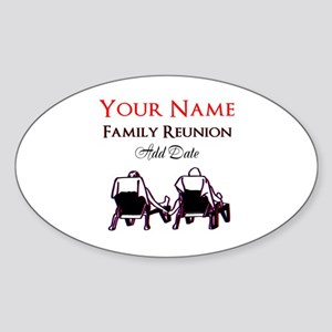 FAMILY REUNION Sticker (Oval)