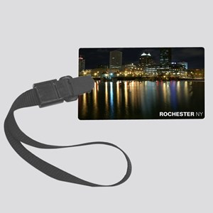 2-downtown Large Luggage Tag