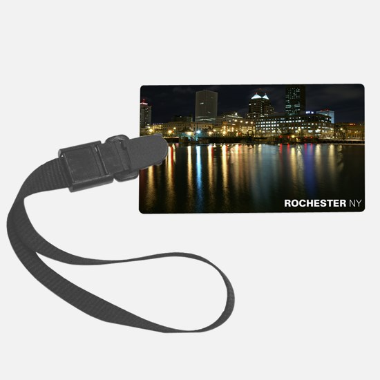 2-downtown Luggage Tag
