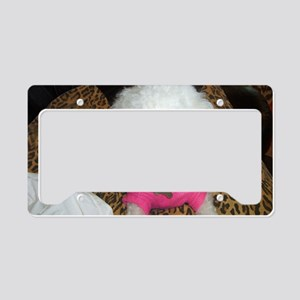 snuggie License Plate Holder
