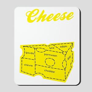 cheese_dark Mousepad