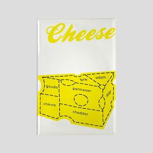 cheese_dark Rectangle Magnet