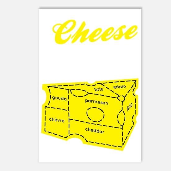 cheese_dark Postcards (Package of 8)