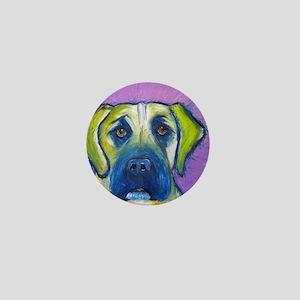 green mastiff Mini Button