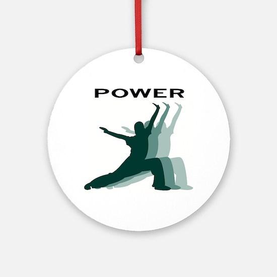Power Logo Ornament (Round)