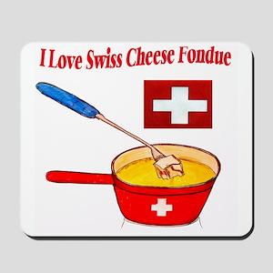 2-I love fondue Mousepad