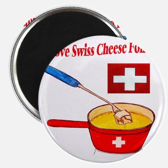 2-I love fondue Magnet