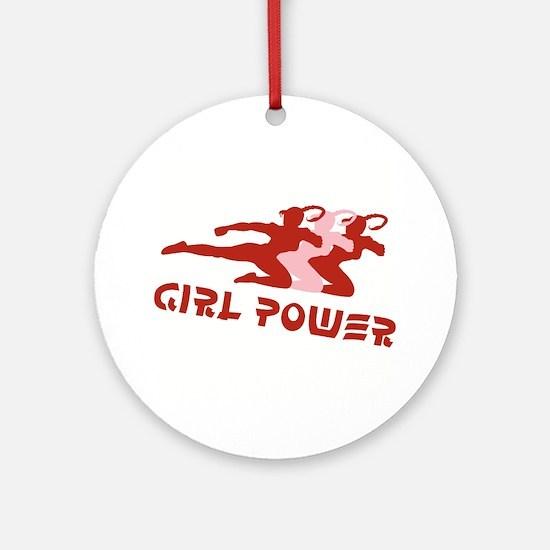 Girl Power Logo Ornament (Round)