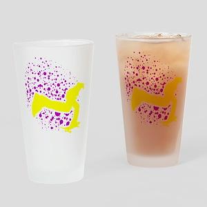 2-keeponpushing_dots_sintexto Drinking Glass