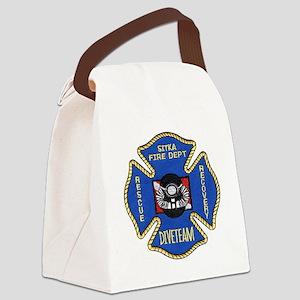 sitkafireforzaz Canvas Lunch Bag