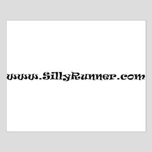 SillyRunner.com Standard Small Poster
