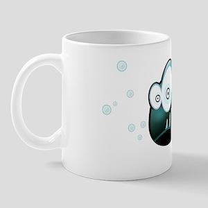 Piranha with Logo Mug