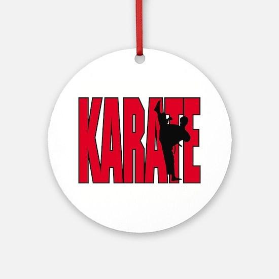 Karate Logo Ornament (Round)