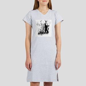 elephats_mom_baby Women's Nightshirt