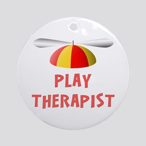 Play Therapist Ornament (Round)