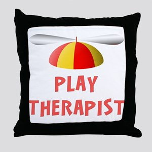 Play Therapist Throw Pillow